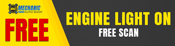 CHECK ENGINE LIGHT ON - FREE SCAN